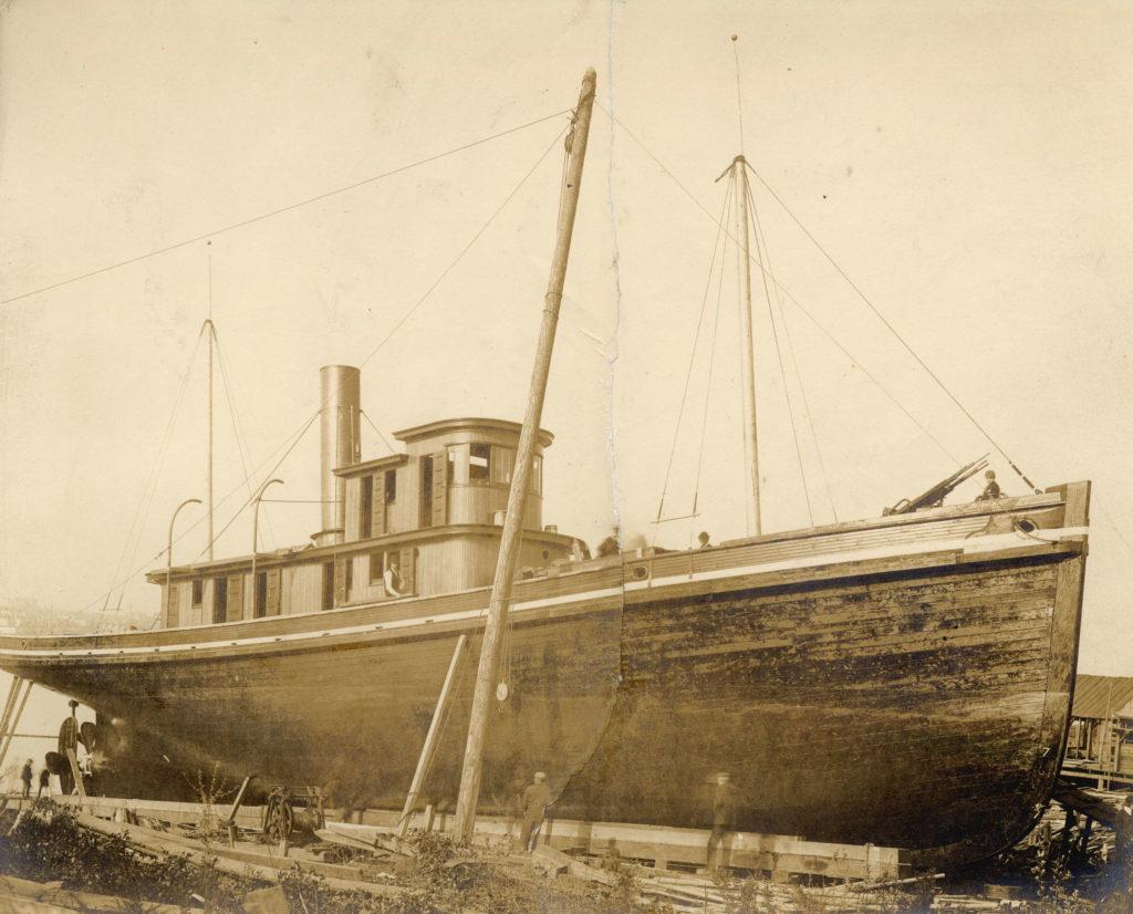Progress in drydock negotiations – Jan 14, 1891