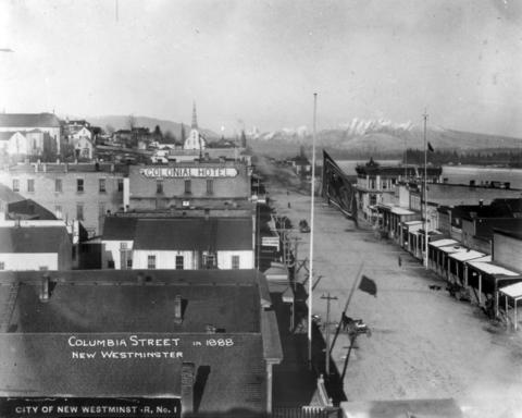 New Westminster, 1888