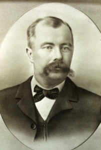 portrait of Fred Cope (1860-1897)