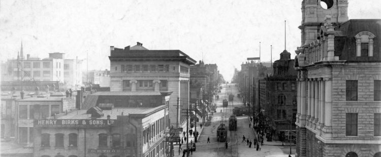 Granville Street to be Paved Between Hastings & Cordova – October 22, 1894