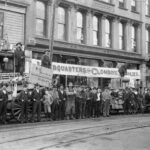 Thos. Dunn's store on Cordova St, 1895