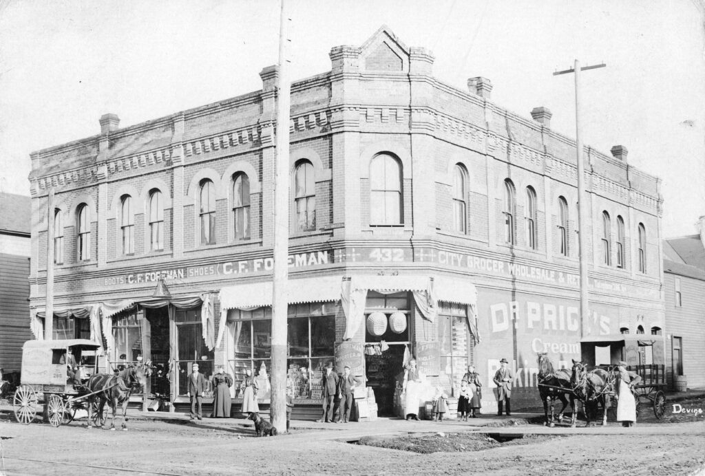 Foreman Grocers, Vancouver 1895