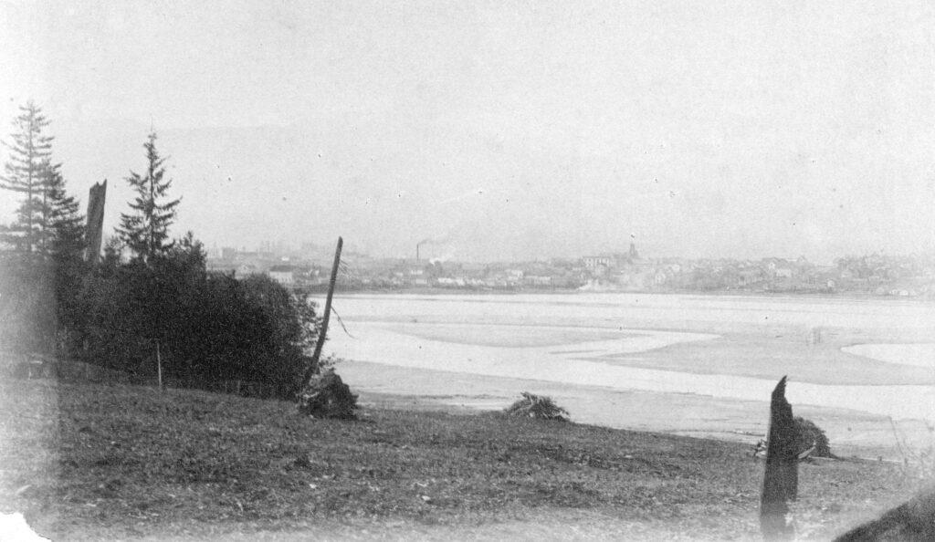 False Creek, Vancouver BC, ca 1891