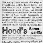 Ad for Hood's Sarsaparilla