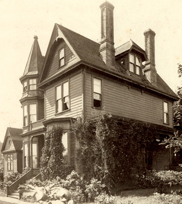 Residence of J.M. Lefevre, Alderman from 1887-1889