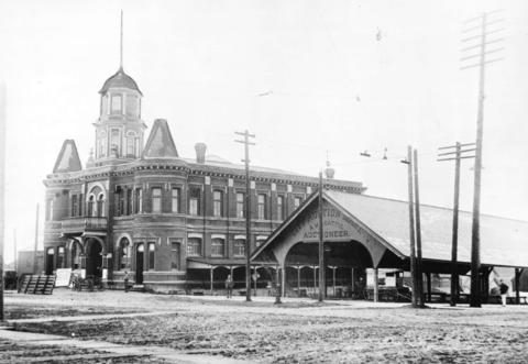 market hall and auction shed 1895