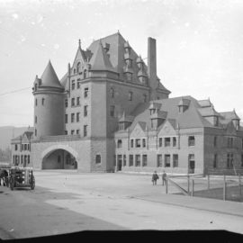C.P.R. Terminal at foot of Granville Street to be built – September 14, 1891