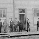 Council's first meeting at the new City Hall on Powell Street – November 8, 1886