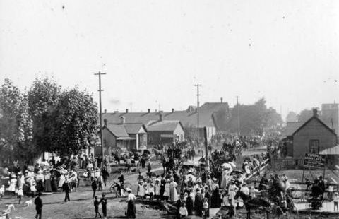 labour day 1898