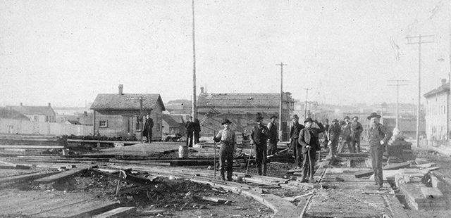 Westminster Ave. to be repaired, bridge closure still pending – October 7, 1889
