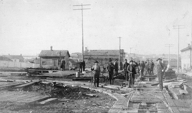 Contracts awarded for Hastings, Water streets – September 20, 1886