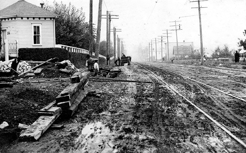 Relief street work to begin on Friday – February 12, 1894