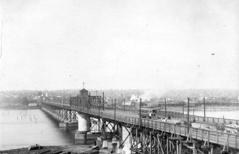 C.P.R Superintendent Abbott supports Granville Street Bridge over False Creek – March 19, 1888