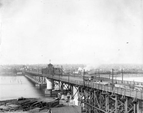 C.P.R Superintendent Abbott supports Granville Street Bridge over False Creek – March 19, 1888