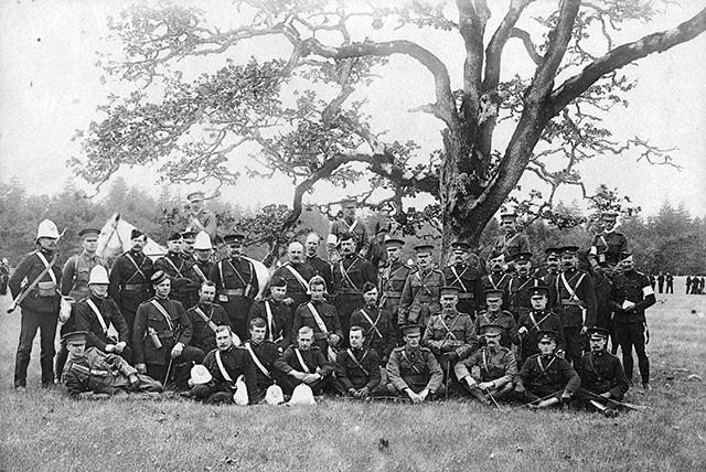 Vancouver volunteer militia approved – December 16, 1889