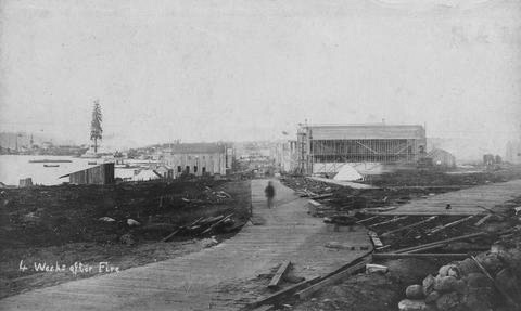 Engineer's report re Water Street adopted – June 30, 1886