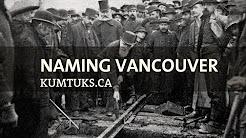 naming Vancouver