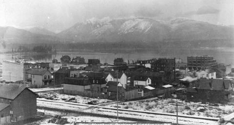Heavy snow hampers Vancouver traffic and water supply – February 6, 1893