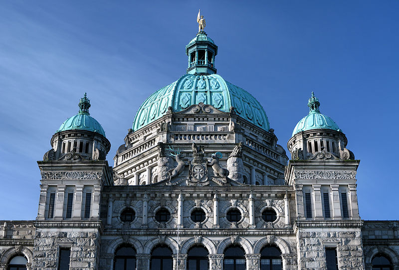 Vancouver City Council disapproves $600,000 cost for Victoria Parliament buildings – April 17, 1893