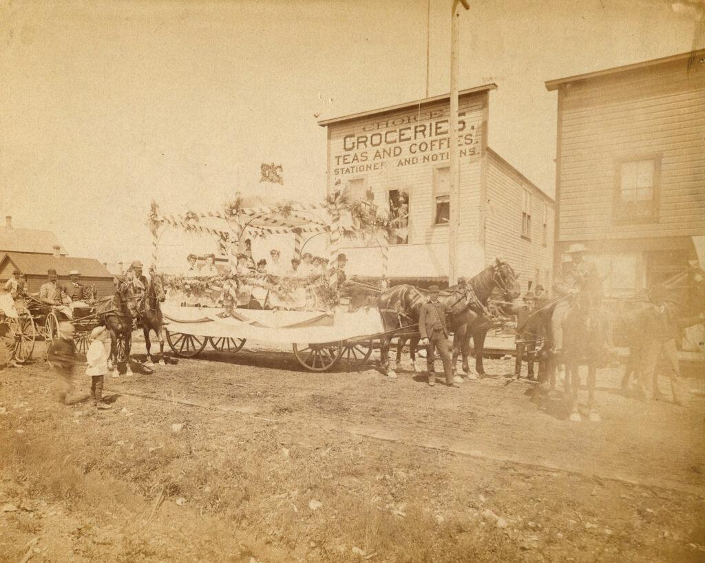Dominion Day Celebration given $1,000 – June 5, 1893