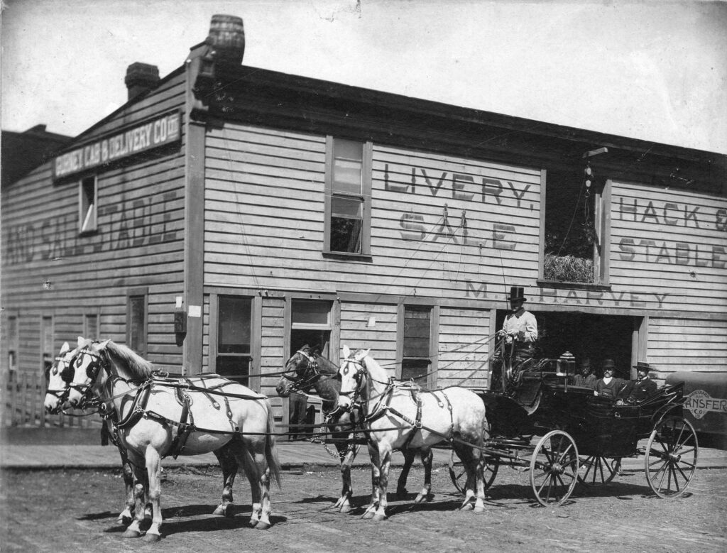 Cabs available on Abbott Street – October 16, 1893