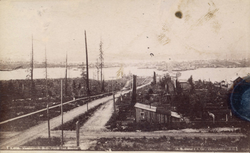 "Vancouver officially requests ""tide lands of False Creek"" from BC – January 29th, 1894"