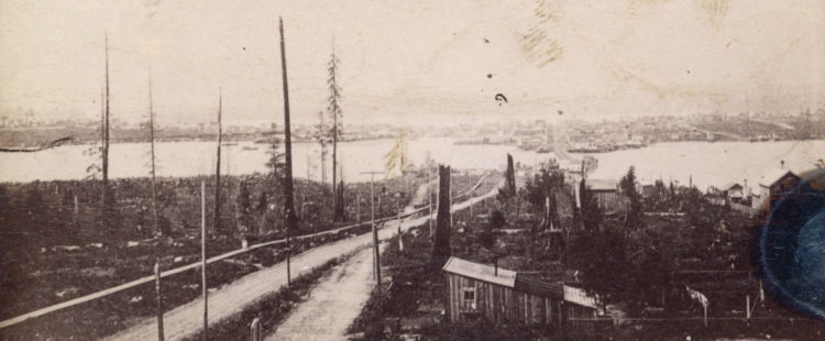 """Vancouver officially requests """"tide lands of False Creek"""" from BC – January 29th, 1894"""