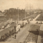 Labour Day Parade 1898 Vancouver near Hastings Mill