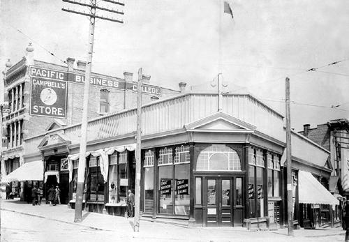 Roger's Building, 1895, Vancouver, BC