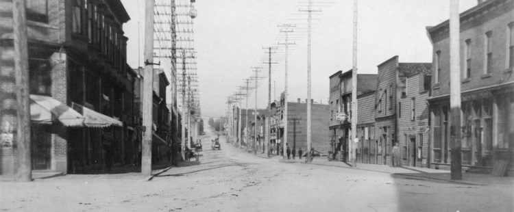 Columbia Avenue lowlands must be drained – July 16, 1894