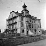 St. Paul's hospital on Burrard St., Vancouver ca. 1898