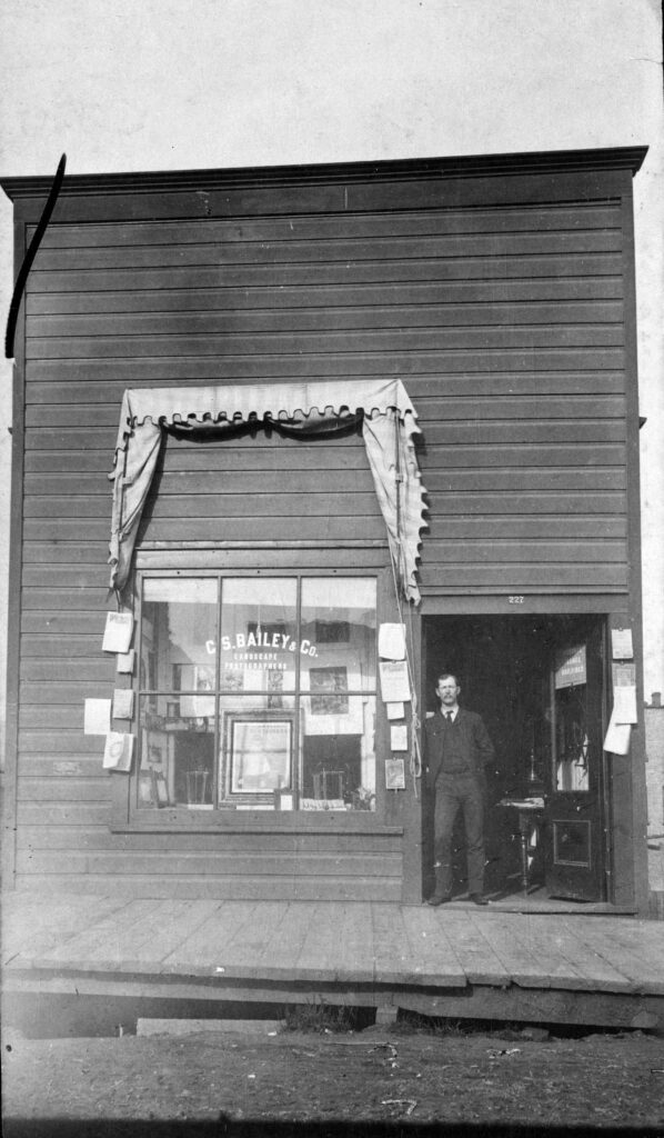 Bailey Photo Studio exterior, Vancouver BC, 1894