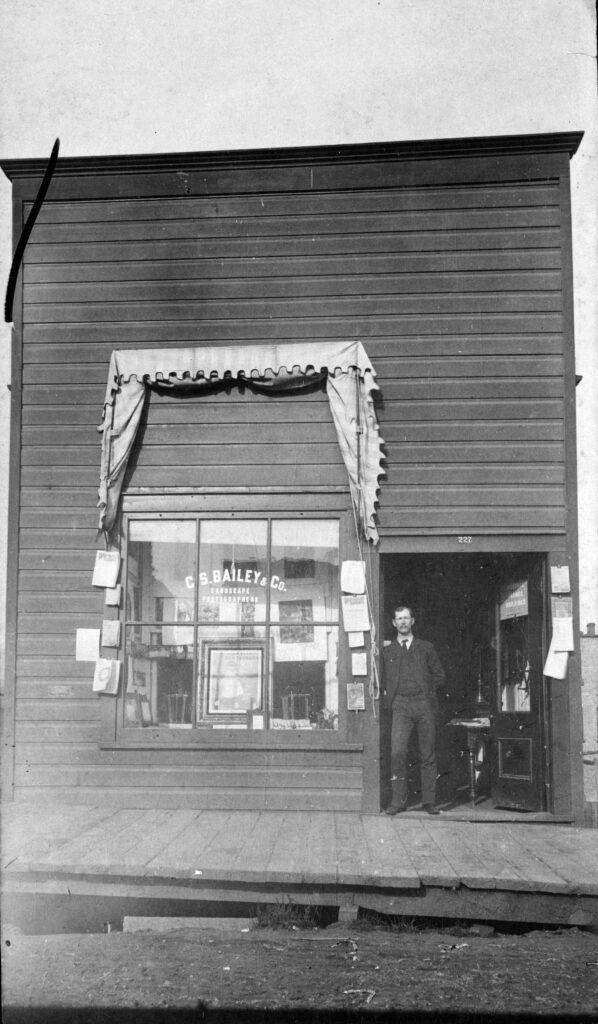 Bailey Photo Studio exterior, Vancouver BC, 1894