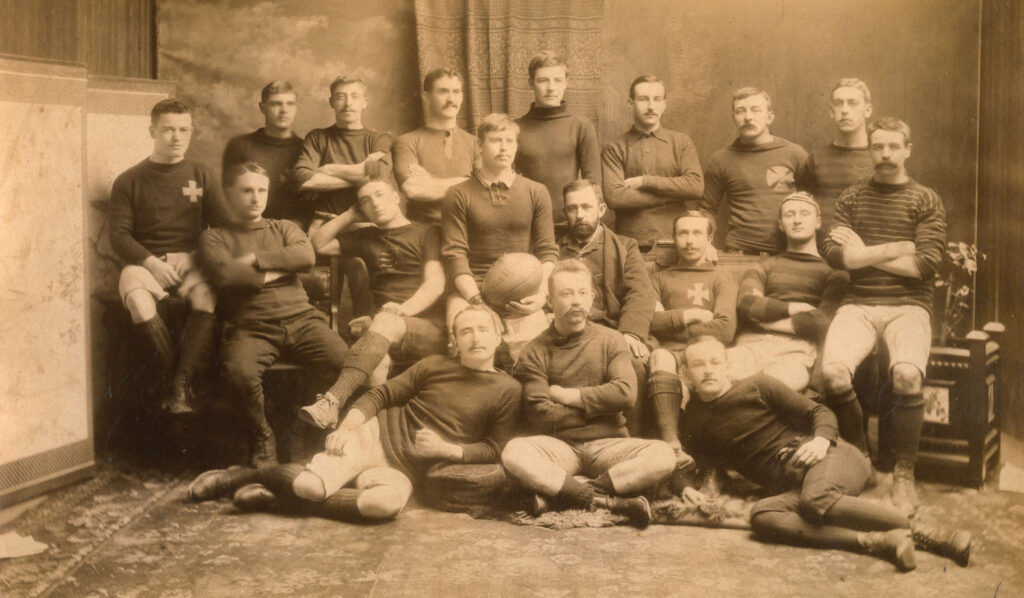 Vancouver Football team 1895
