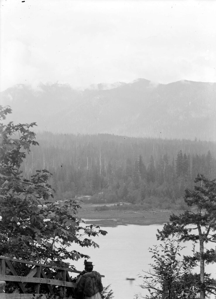 North Shore mountains from Prospect Point 1895