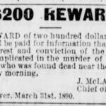 Morley, Butler Get Sunbury Reward – June 24, 1895