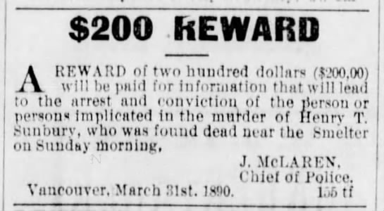 Morley, Butler Get Sunbury Reward – June 24, 1895