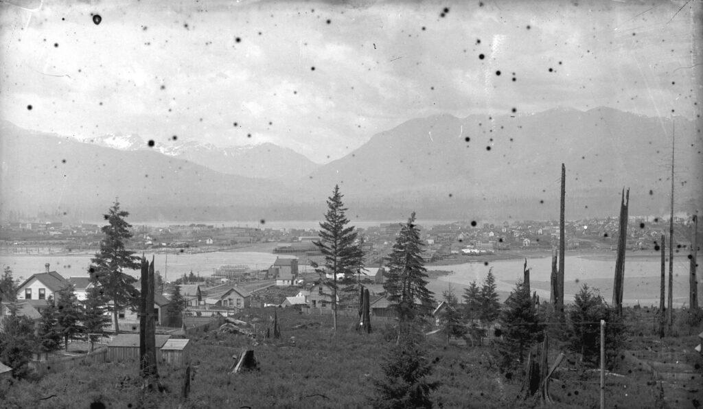 """False Creek Bridge """"In A Dangerous State"""" – April 13, 1896"""