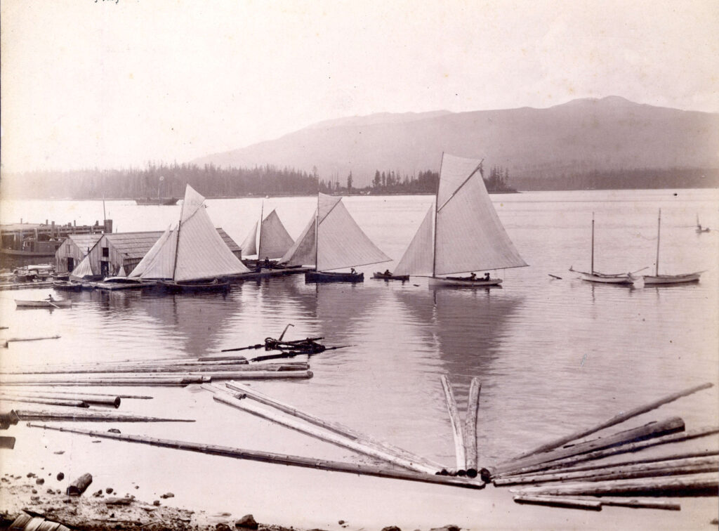 Vancouver City Wharf 1897